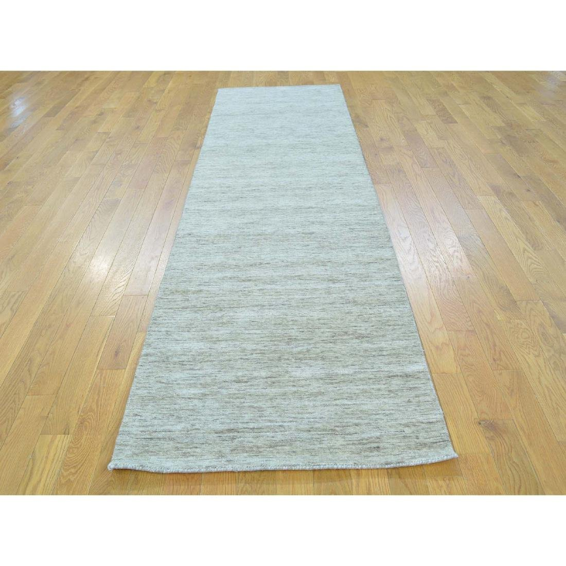 Thick And Plush Modern Hand Loomed Gabbeh Runner - 2