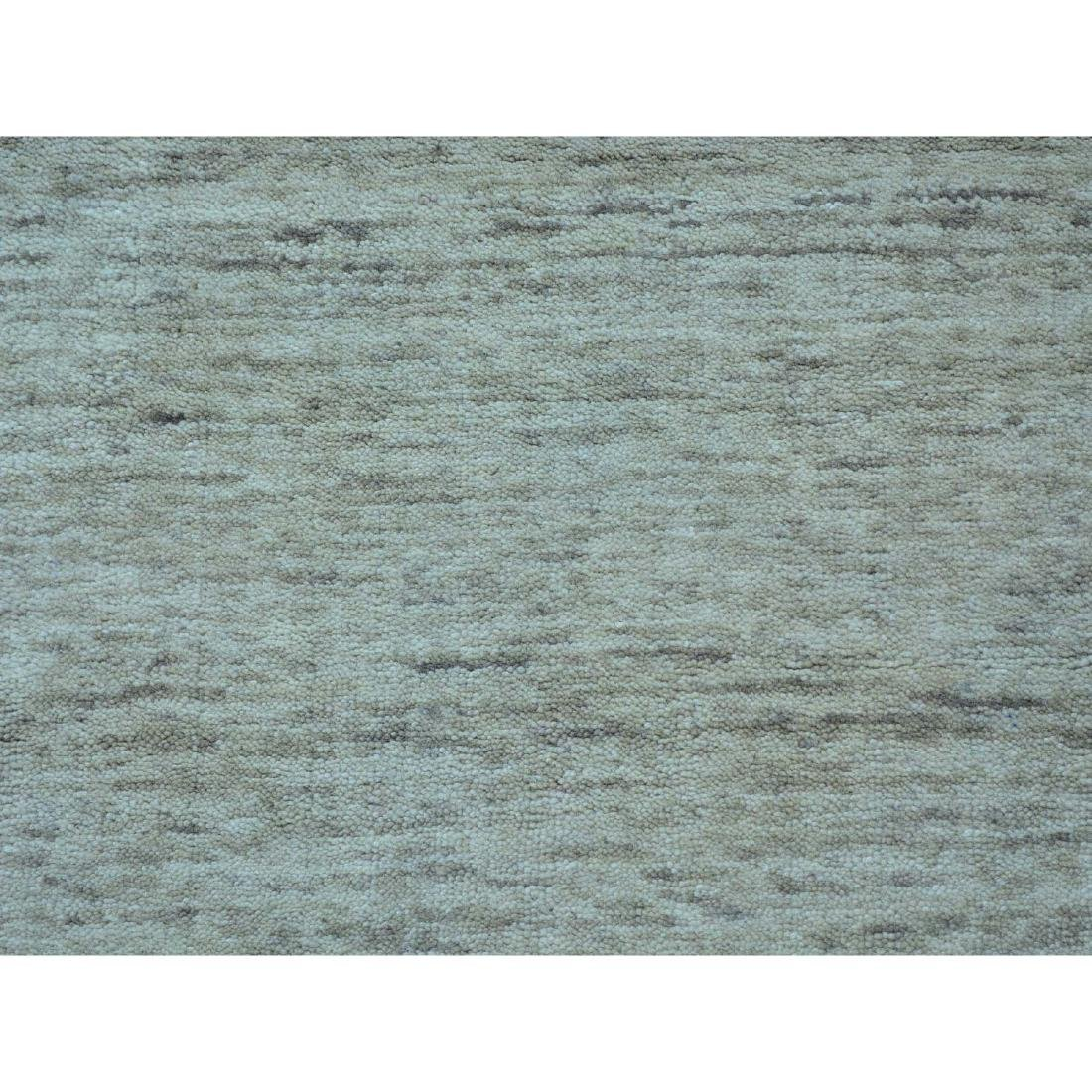 Thick And Plush Modern Hand Loomed Gabbeh Runner - 4