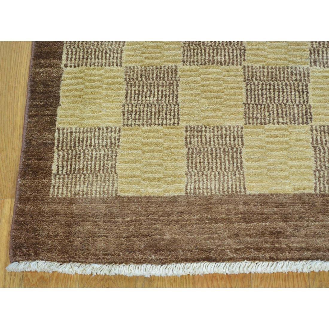 Peshawar Gabbeh Hand Knotted Pure Wool Oriental Rug - 2
