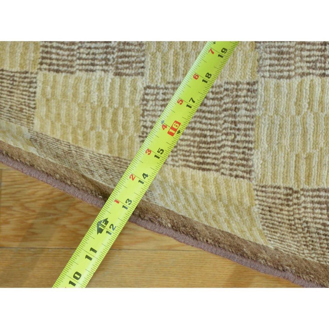 Peshawar Gabbeh Hand Knotted Pure Wool Oriental Rug - 3