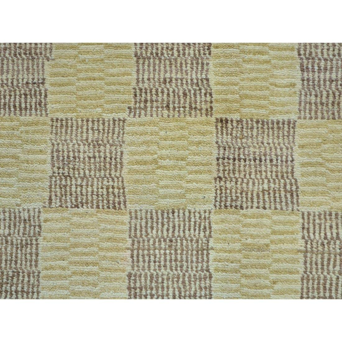 Peshawar Gabbeh Hand Knotted Pure Wool Oriental Rug - 4