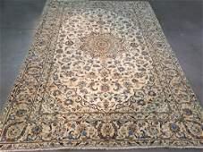 STUNNING ANTIQUE PERSIAN KASHAN RUG 77x110