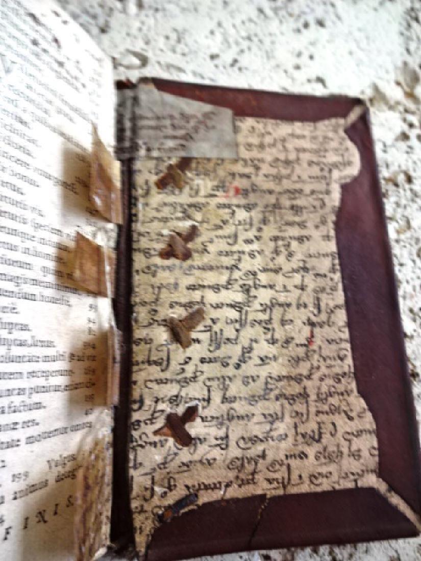 1569 Cicero Sententiae Insigniores w/ Manuscripts - 3