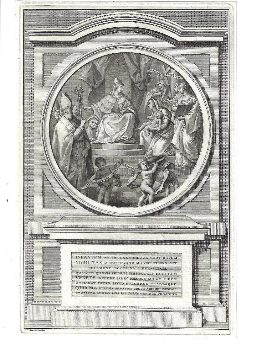 1740 Fine Engraving Zucchi
