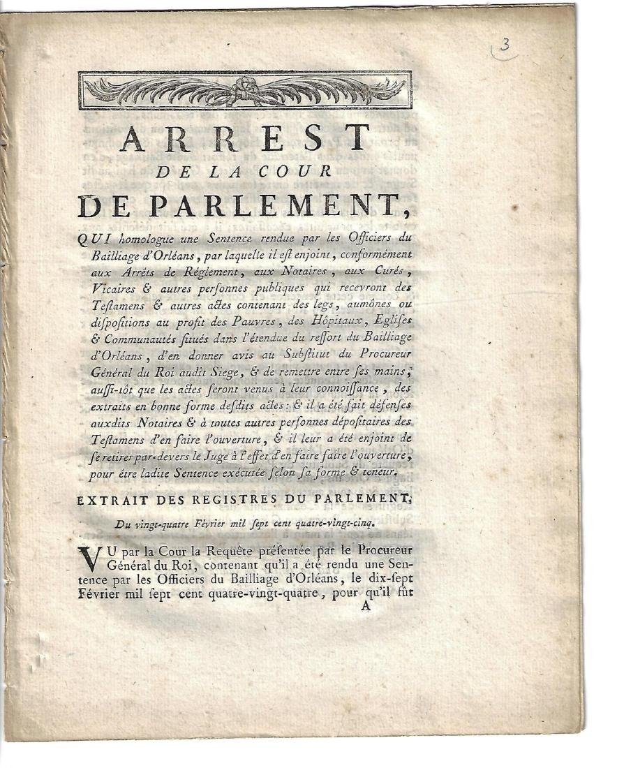 1785 French Military Act