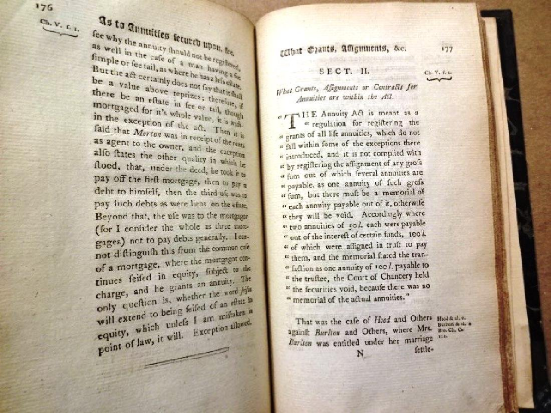 1794 Hunt's Collection of Cases on Annuity Act - 2