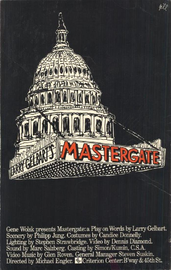 Mastergate: A Play on Words - Unknown