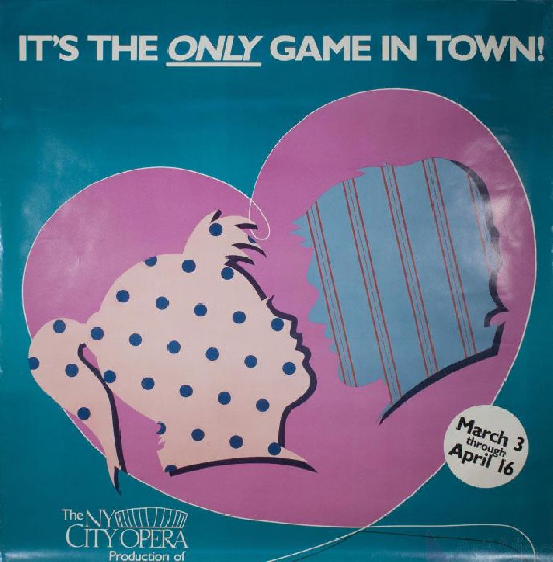 It's The Only Game In Town - Unknown