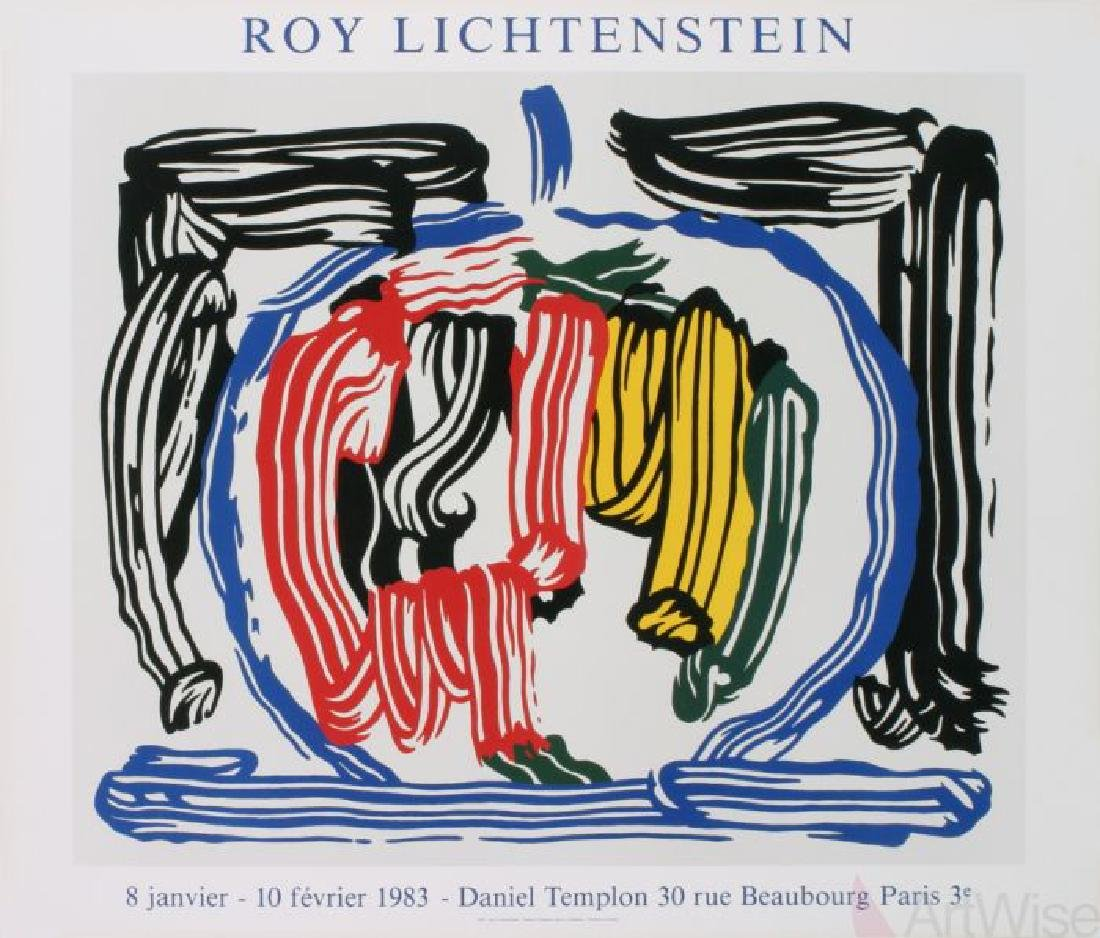 Apple - Roy Lichtenstein