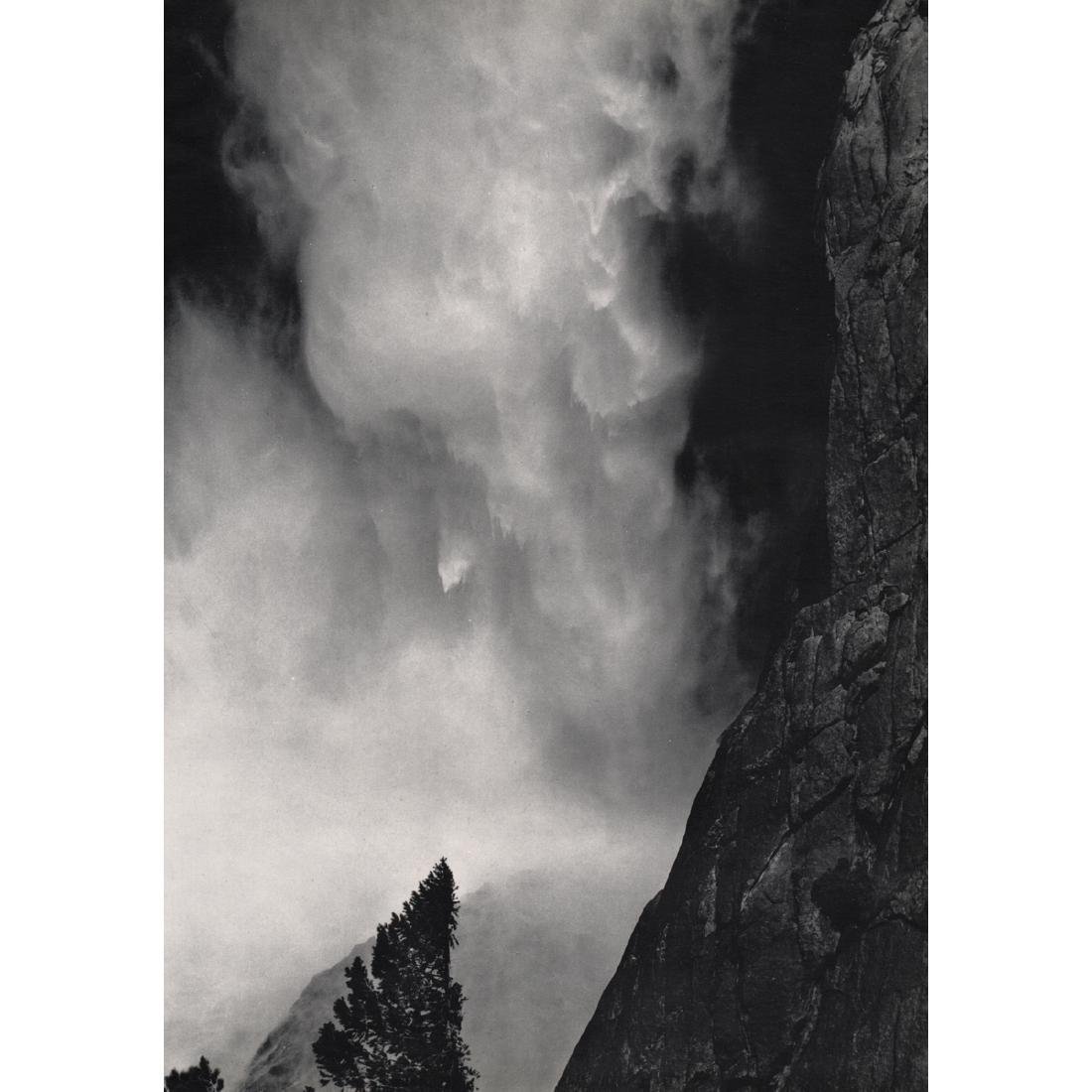 ANSEL ADAMS - Upper Yosemite Falls