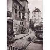 EUGENE ATGET - Rue des Ursins, 1923