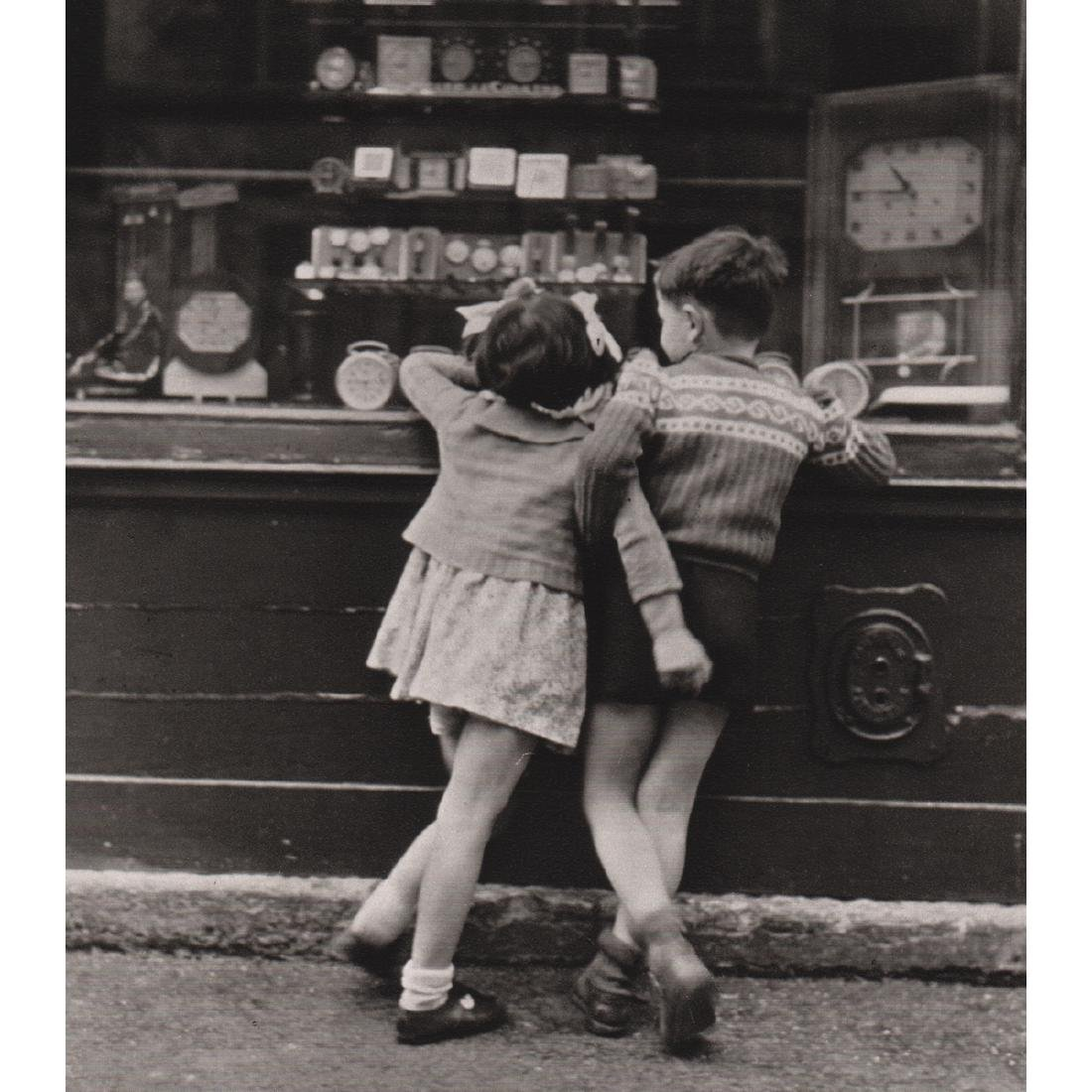 EDOUARD BOUBAT -  Montmartre Paris, 1949
