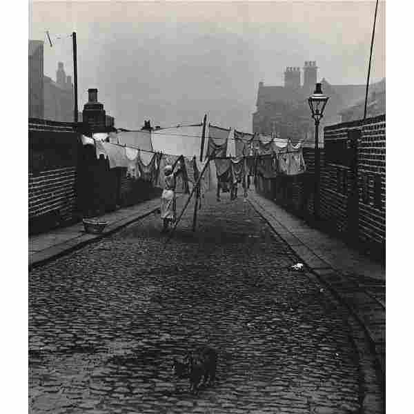 BILL BRANDT - Back Street in Jarrow, Tyneside