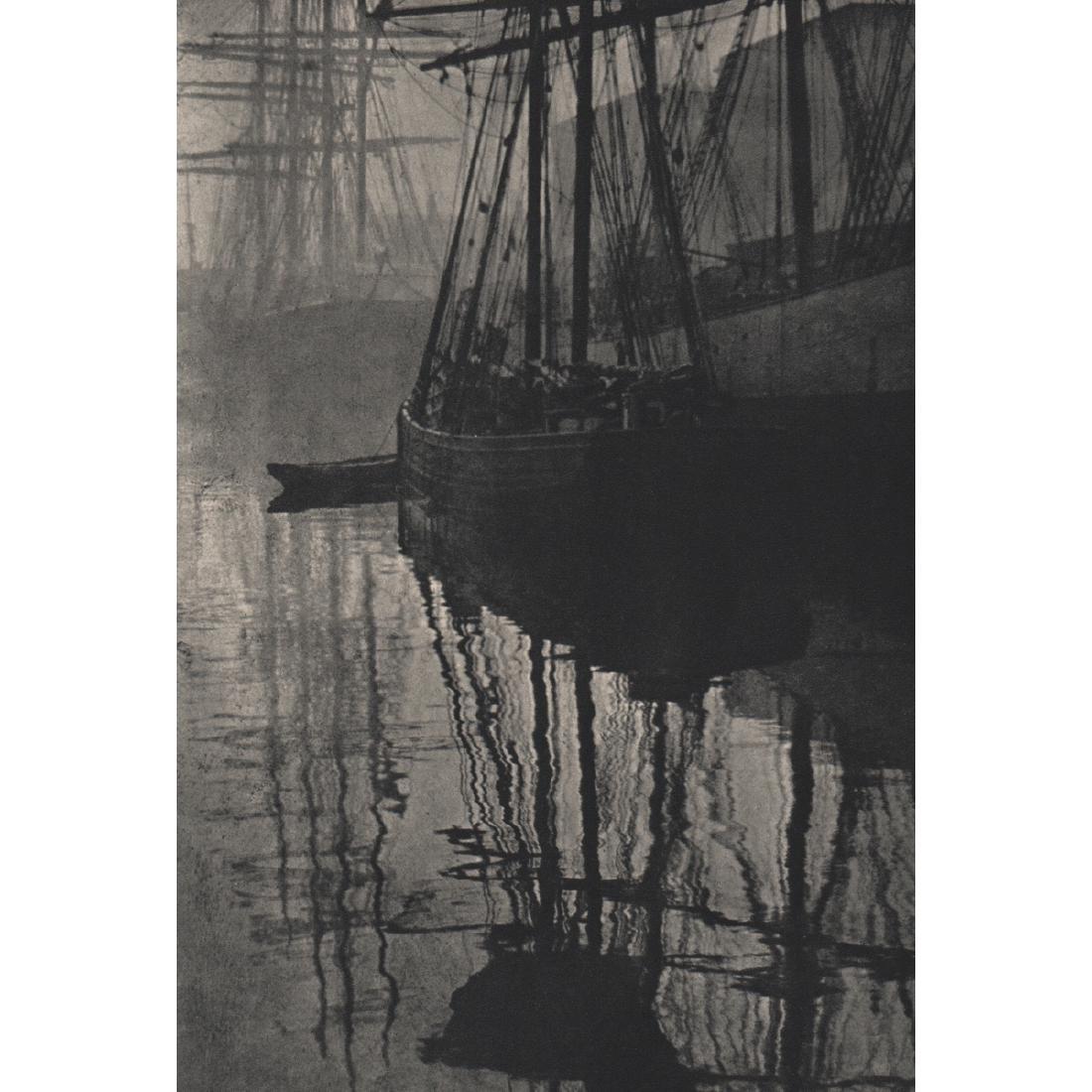 ALVIN LANGDON COBURN -  Spider Webs, Liverpool, 1906