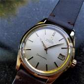 Omega Seamaster Vintage 1970s Gold Capped Swiss 35mm