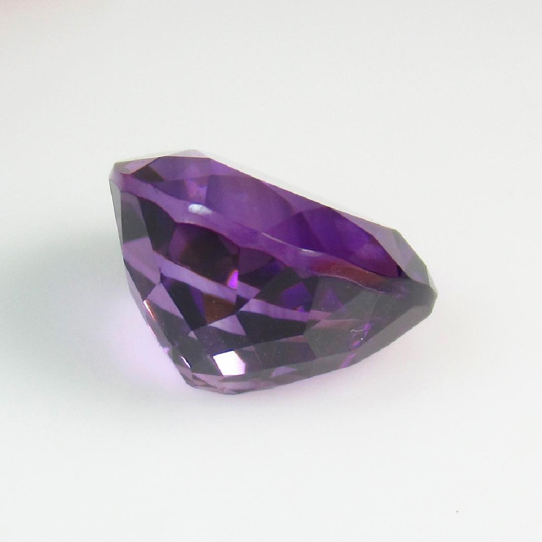 7.56 Ct Genuine Brazil Purple Amethyst Pear Cut - 2