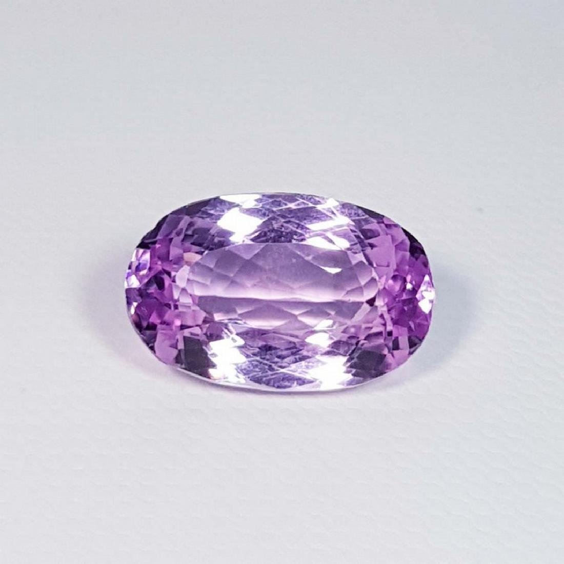 9.80 ct Top Grade Oval Cut Natural Pink or Purple