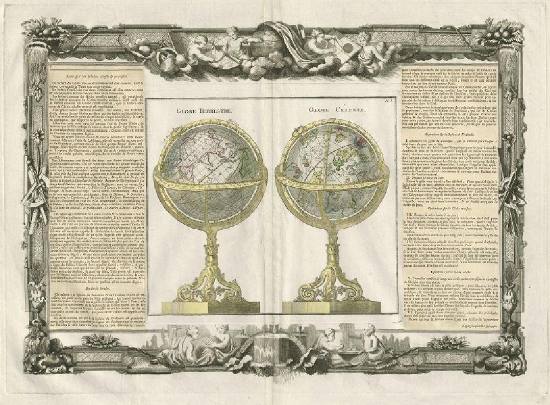 Globe Terrestre. Globe Celeste. Terrestrial celestial