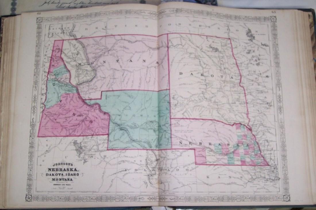 Johnson's Nebraska, Dakota, Idaho and Montana