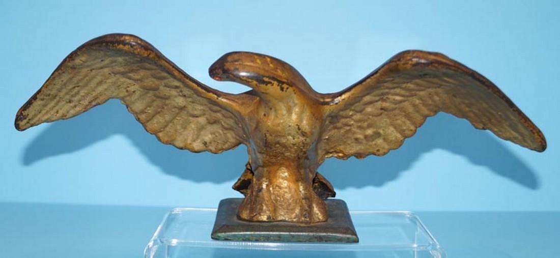 Spread Wing Patriotic Eagle Cast Iron Doorstop