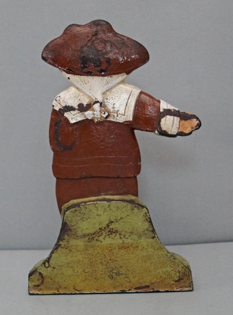 Pilgrim Boy Cast Iron Doorstop - 4