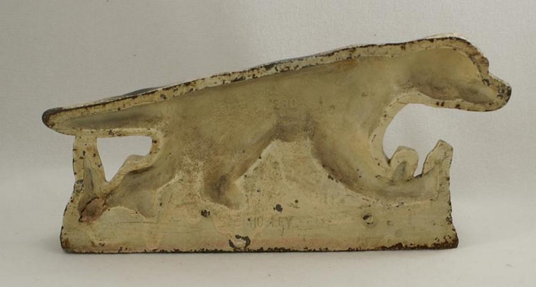 Setter Hunting Dog Cast Iron Hubley Doorstop - 2