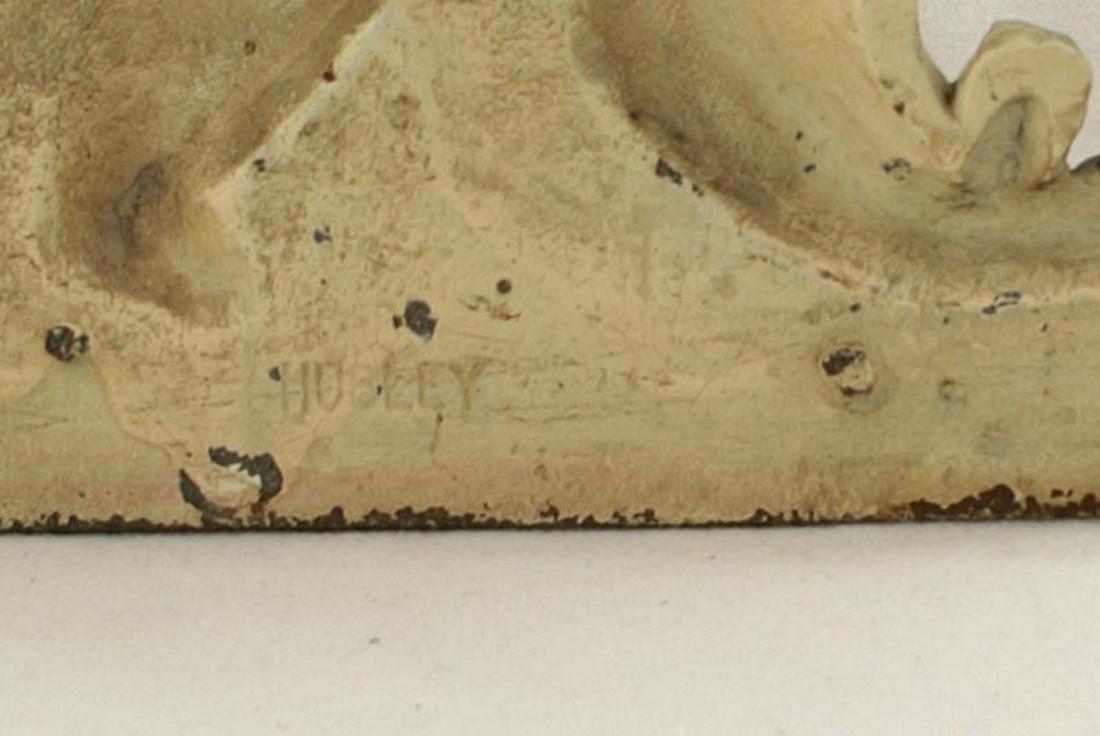 Setter Hunting Dog Cast Iron Hubley Doorstop - 3
