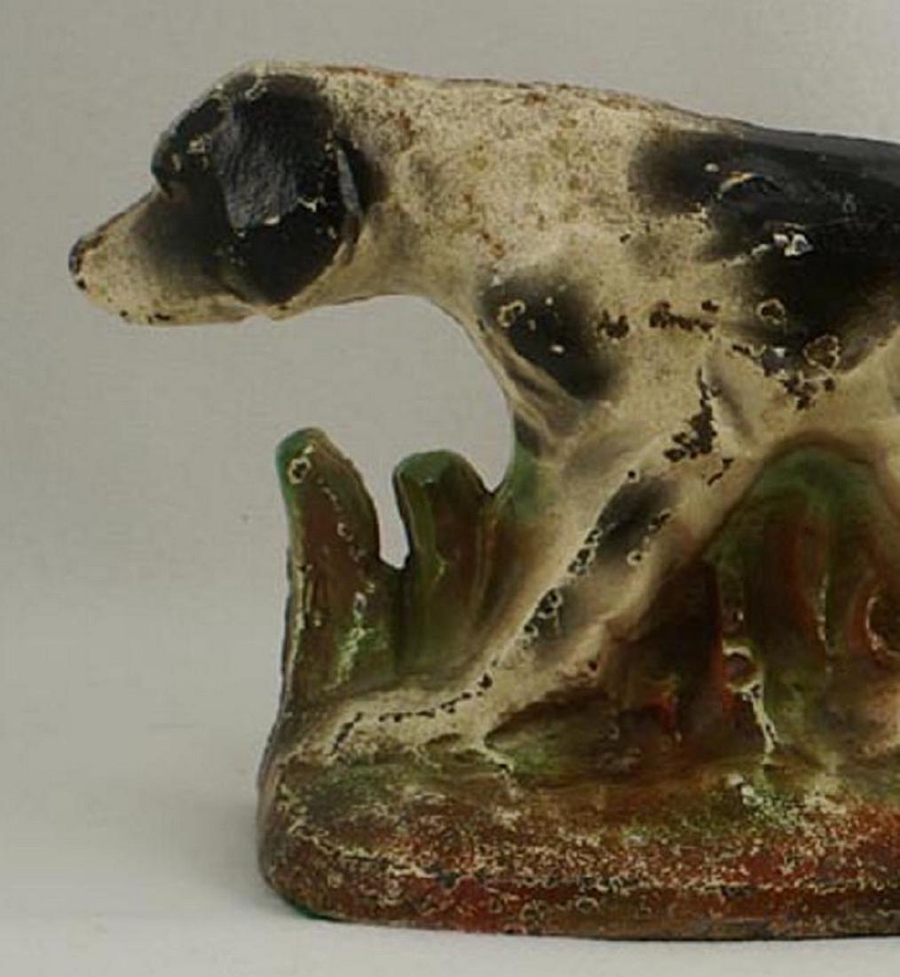 Setter Hunting Dog Cast Iron Hubley Doorstop - 4
