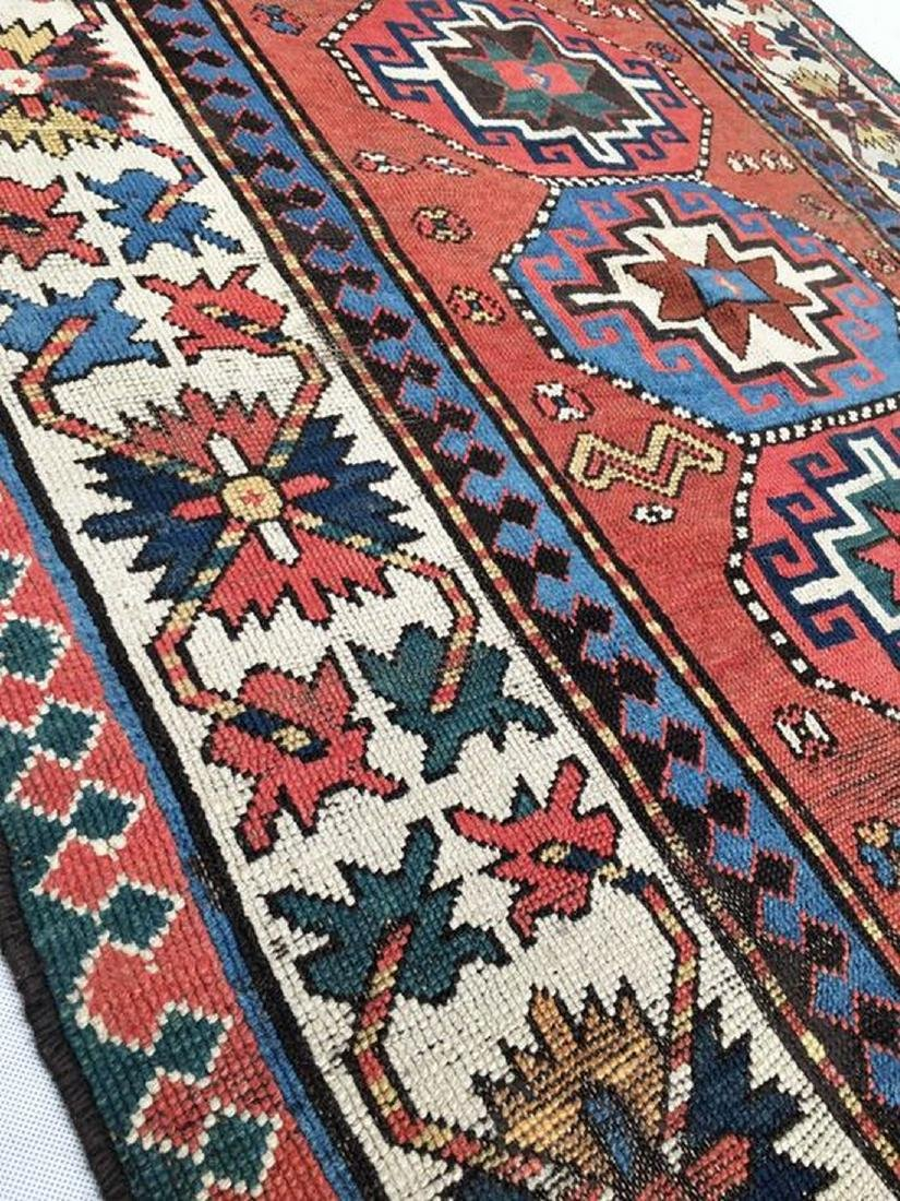antique caucasian Ganjeh kazak - 2