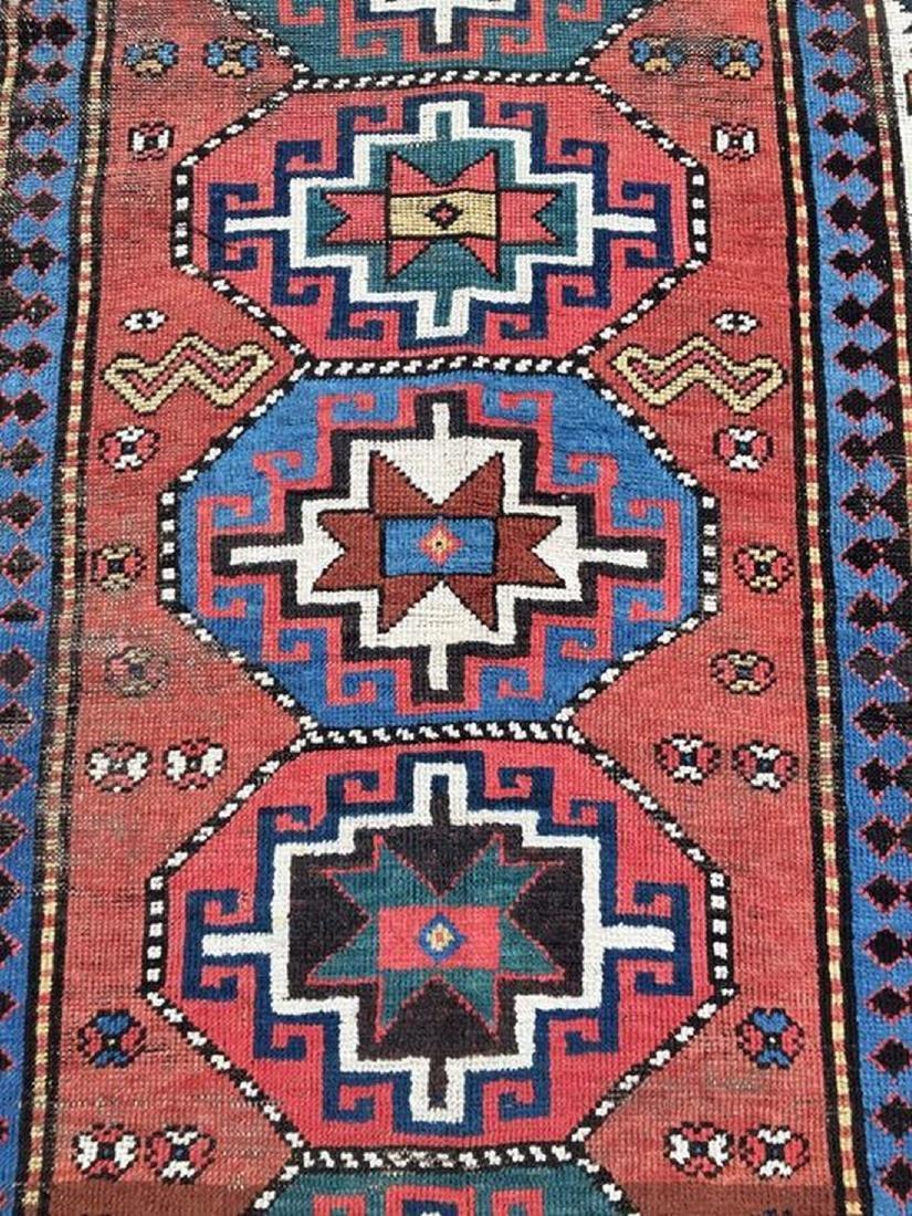 antique caucasian Ganjeh kazak - 4