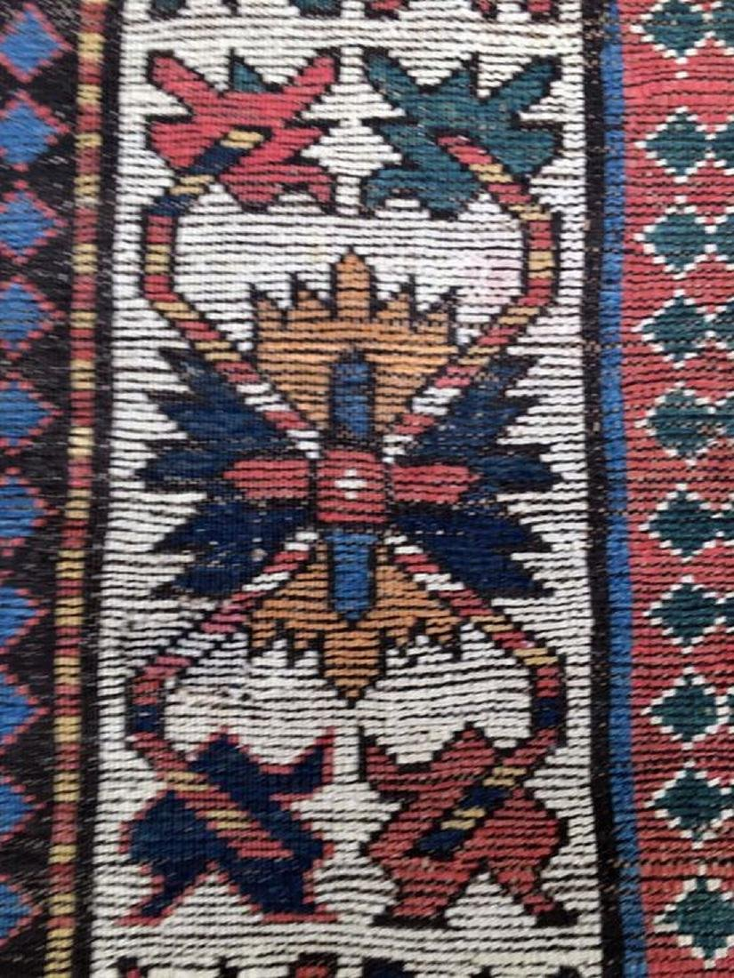 antique caucasian Ganjeh kazak - 5