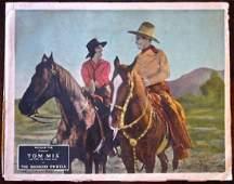 THE BRONCHO TWISTER – ORIGINAL 1927 LOBBY CARD – COOL