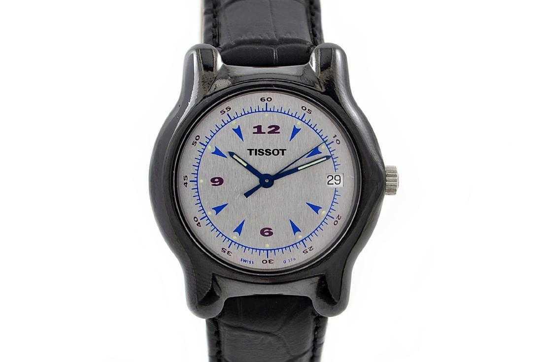 fb8ccd506e6 Vintage Tissot Ceramic Case Quartz Midsize Watch