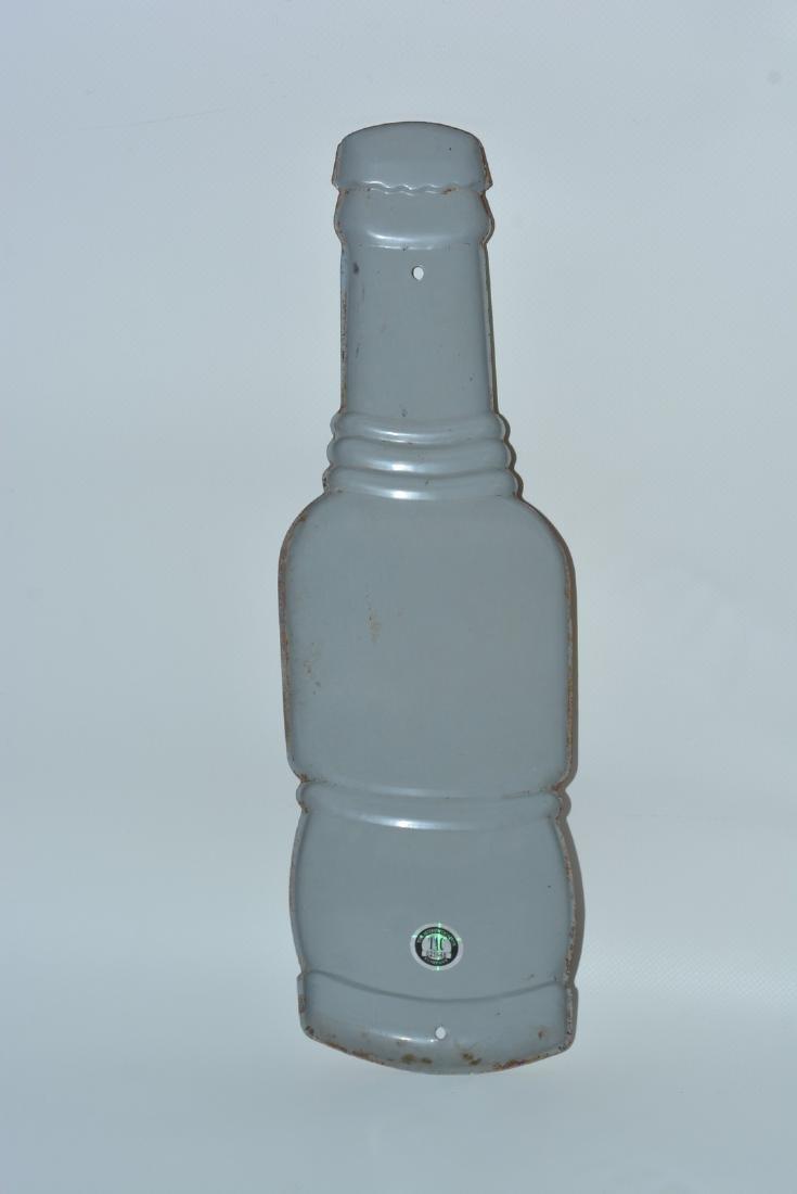 Nu-Grape Soda Bottle-Shaped painted sign - 2