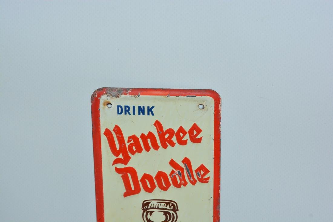 Drink Yankee Doodle Root Beer painted sign - 2