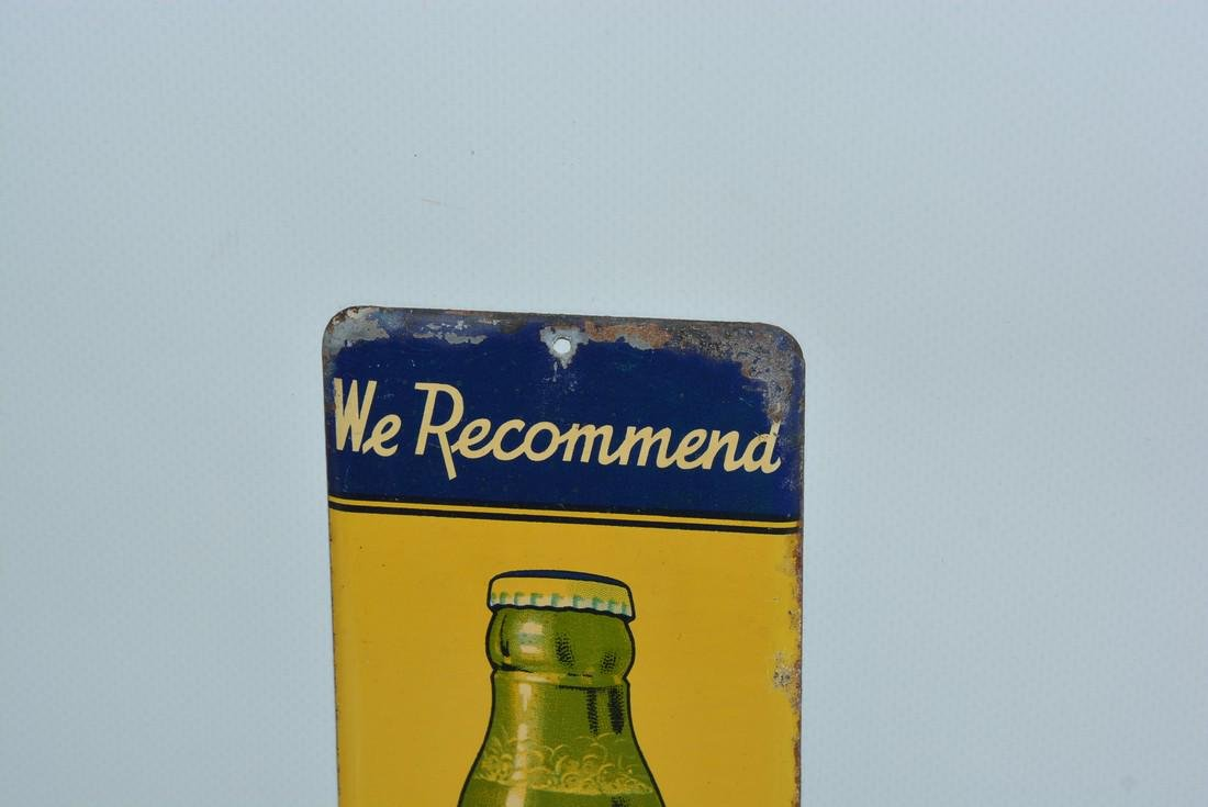 "We Recommend Senate Beer ""Buy it here"" painted sign - 2"