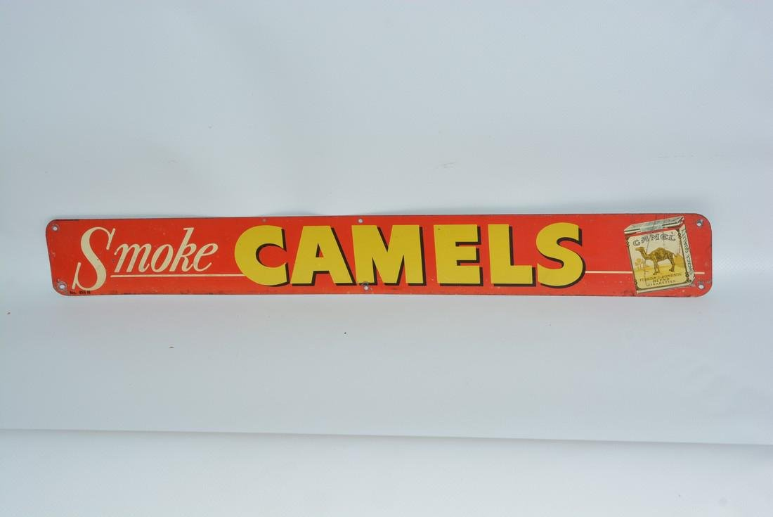 Smoke Camels w/Pack painted sign