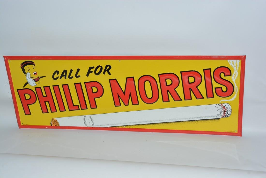 Call for Phillip Morris painted sign