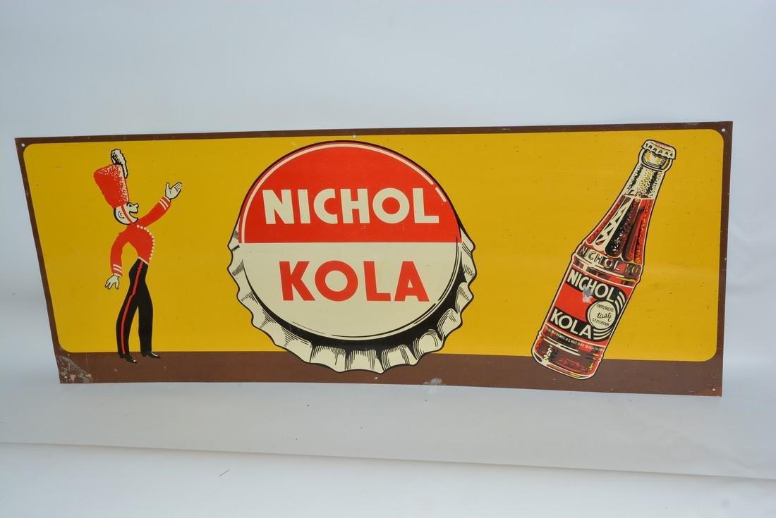 Nichola Kola w/graphics painted sign