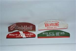 4-Different Service Station Attendants Hats