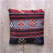 Handmade / Handwoven Vintage Kilim Pillow Cushion