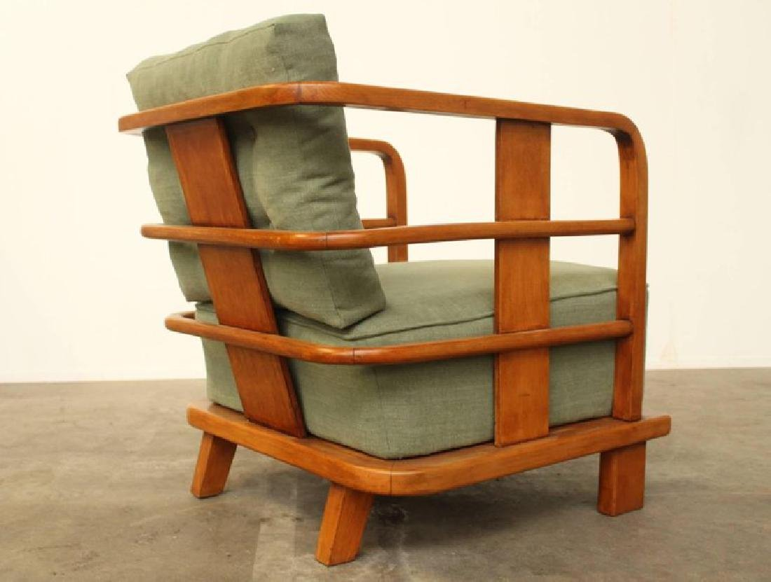Pair of Lounge Easy Chairs, Attributed to Jean Royere, - 7