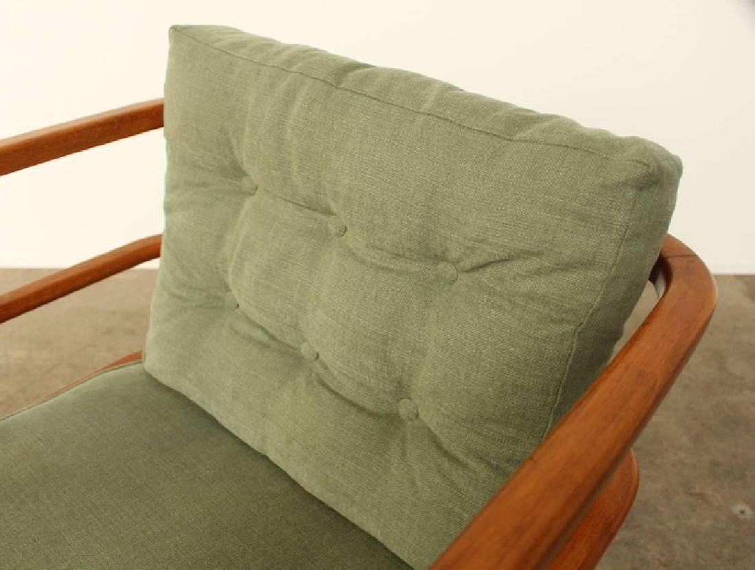 Pair of Lounge Easy Chairs, Attributed to Jean Royere, - 8