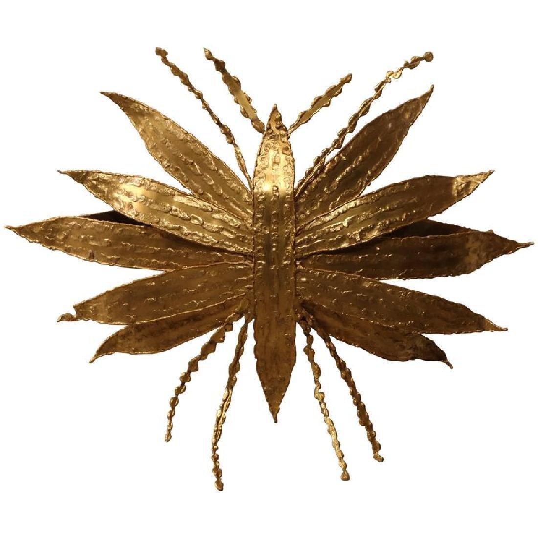Large Paul Moerenhout Gilt Bronze Dragon Fly like
