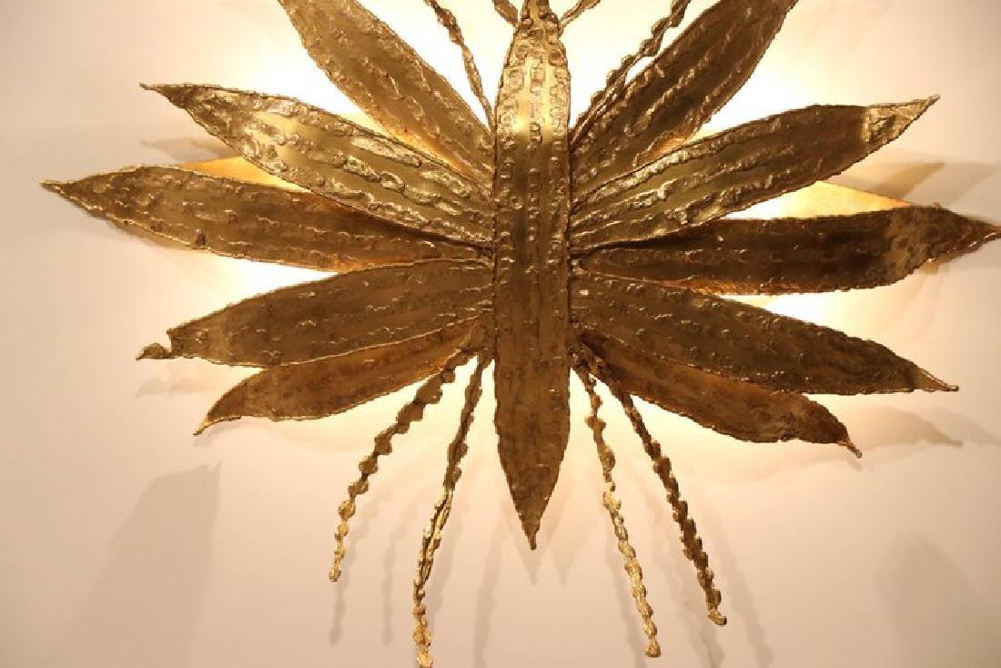 Large Paul Moerenhout Gilt Bronze Dragon Fly like - 7