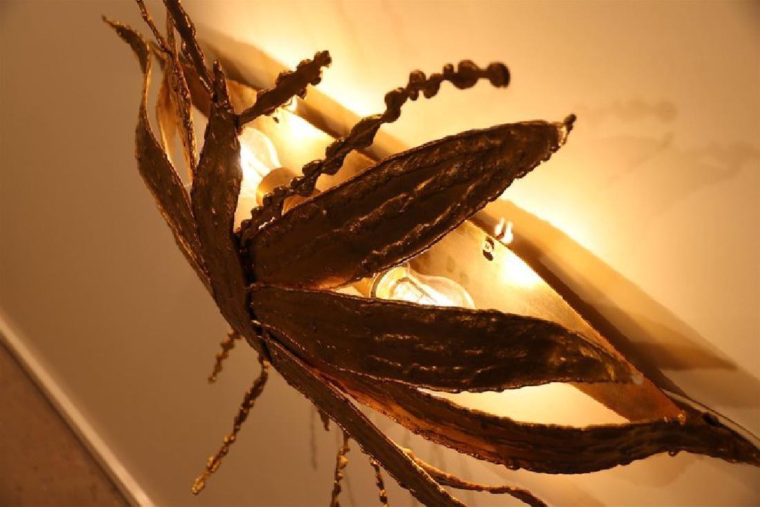 Large Paul Moerenhout Gilt Bronze Dragon Fly like - 8