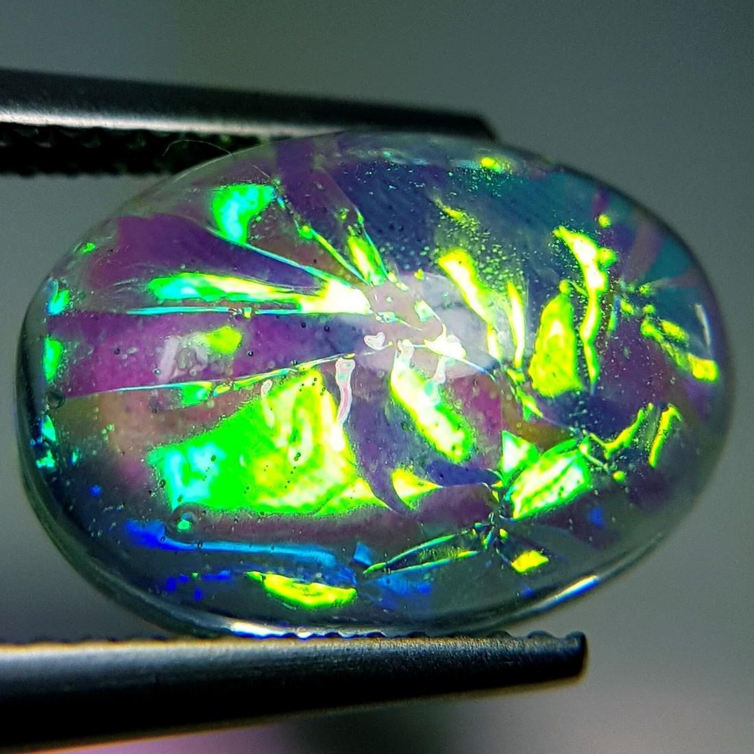 5.93 ct Australian Doublet Opal - 2