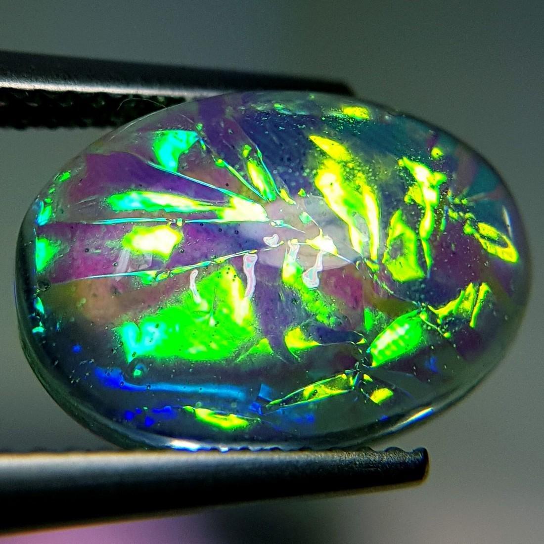5.93 ct Australian Doublet Opal - 3