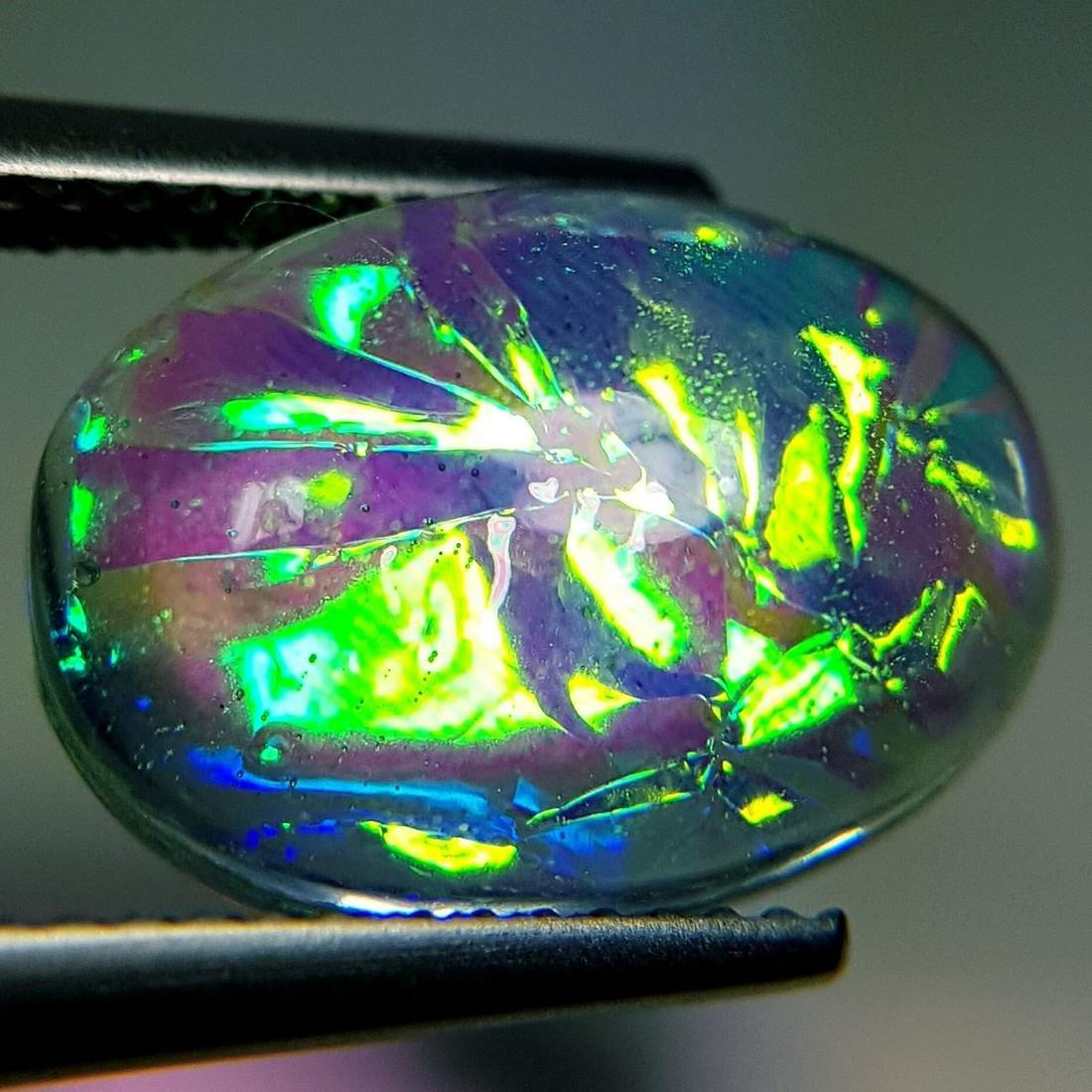 5.93 ct Australian Doublet Opal - 4