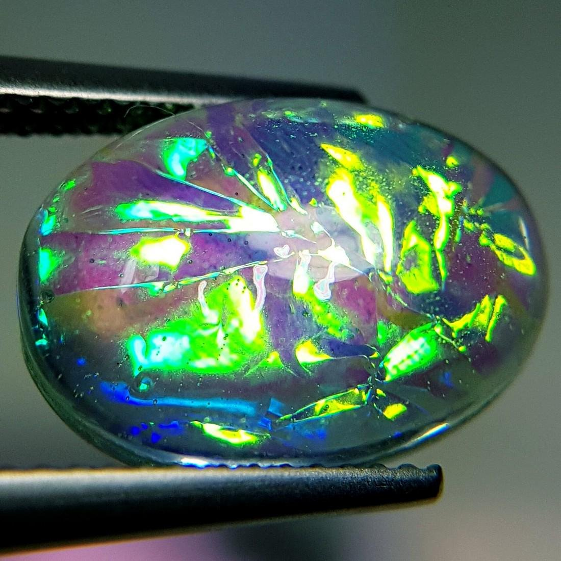 5.93 ct Australian Doublet Opal - 5